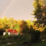 cottage rainbow